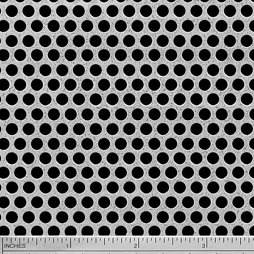 Online Metal Supply Galvanized Steel Perforated Sheet 0.034'' x 24'' x 36'', 3/16'' Holes by Online Metal Supply