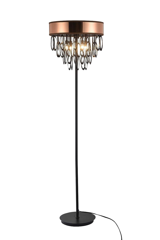 Contempo Lights SHSC420 Triana 63インチフロアランプ 銅   B07GVXNFZM