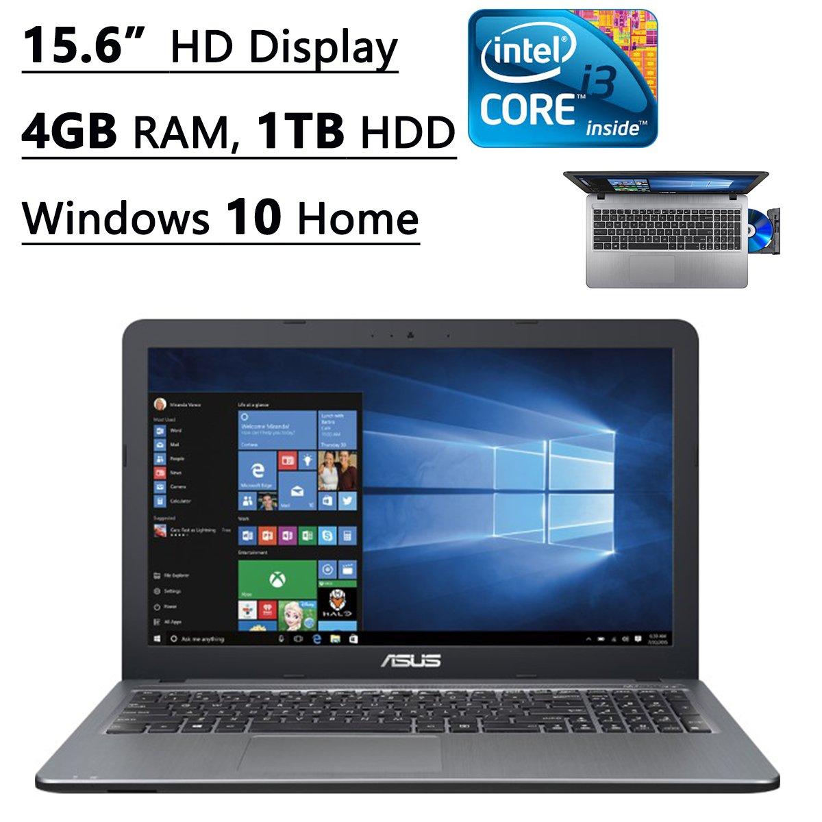 Asus X540LA-SI30205P 15.6-Inch Flagship Premium Laptop (Intel Core i3-5020U 2.2GHz Processor, 4GB DDR3, 1TB HDD, Windows 10) Silver by Asus