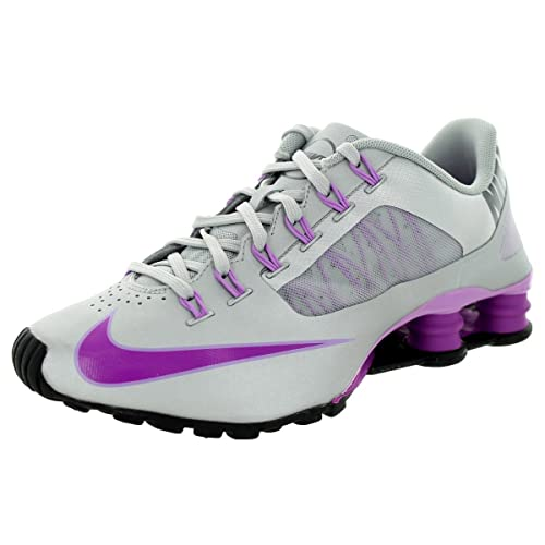 pretty nice fbb79 92d1e Nike Women's Shox Superfly R4 Silver Purple 653479 005 Size ...