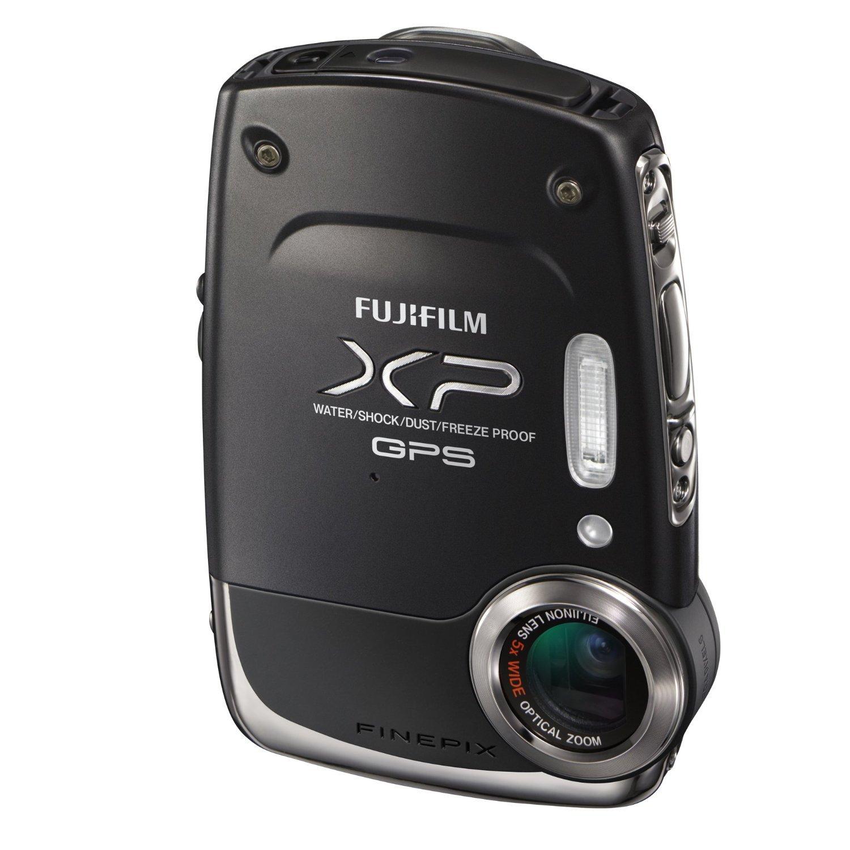 Fujifilm FinePix XP30 14 MP Waterproof Digital Camera with Fujinon 5x Optical Zoom Lens and GPS Geo-Tagging Function (Black)