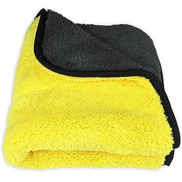 Toalla de microfibra para limpieza de coche, de Dooppa, 45 x 38 cm