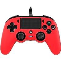 Nacon - Mando Compacto para PS4, color Rojo