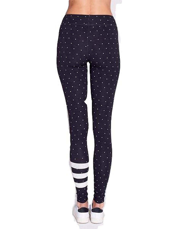 SUNDRY Stripe /& Dots Yoga Sweatpant