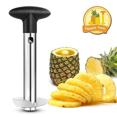 Nelipo Stainless Steel Pineapple Peeler, Pineapple Corer, Pineapple Slicer  - All In One Kitchen Gadget