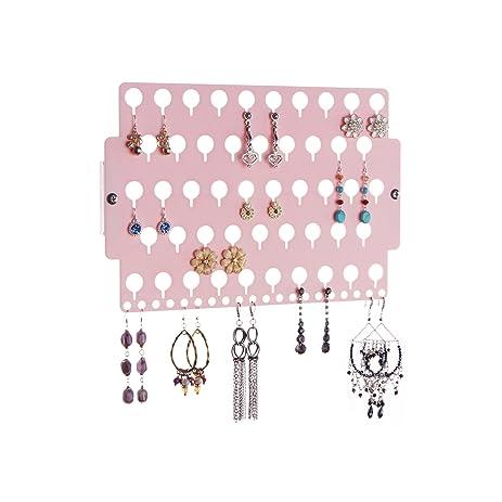 Ordinaire Earring Holder Organizer Wall Mount Jewelry Organizer Hanging Closet  Storage Rack, Earring Angel Pink