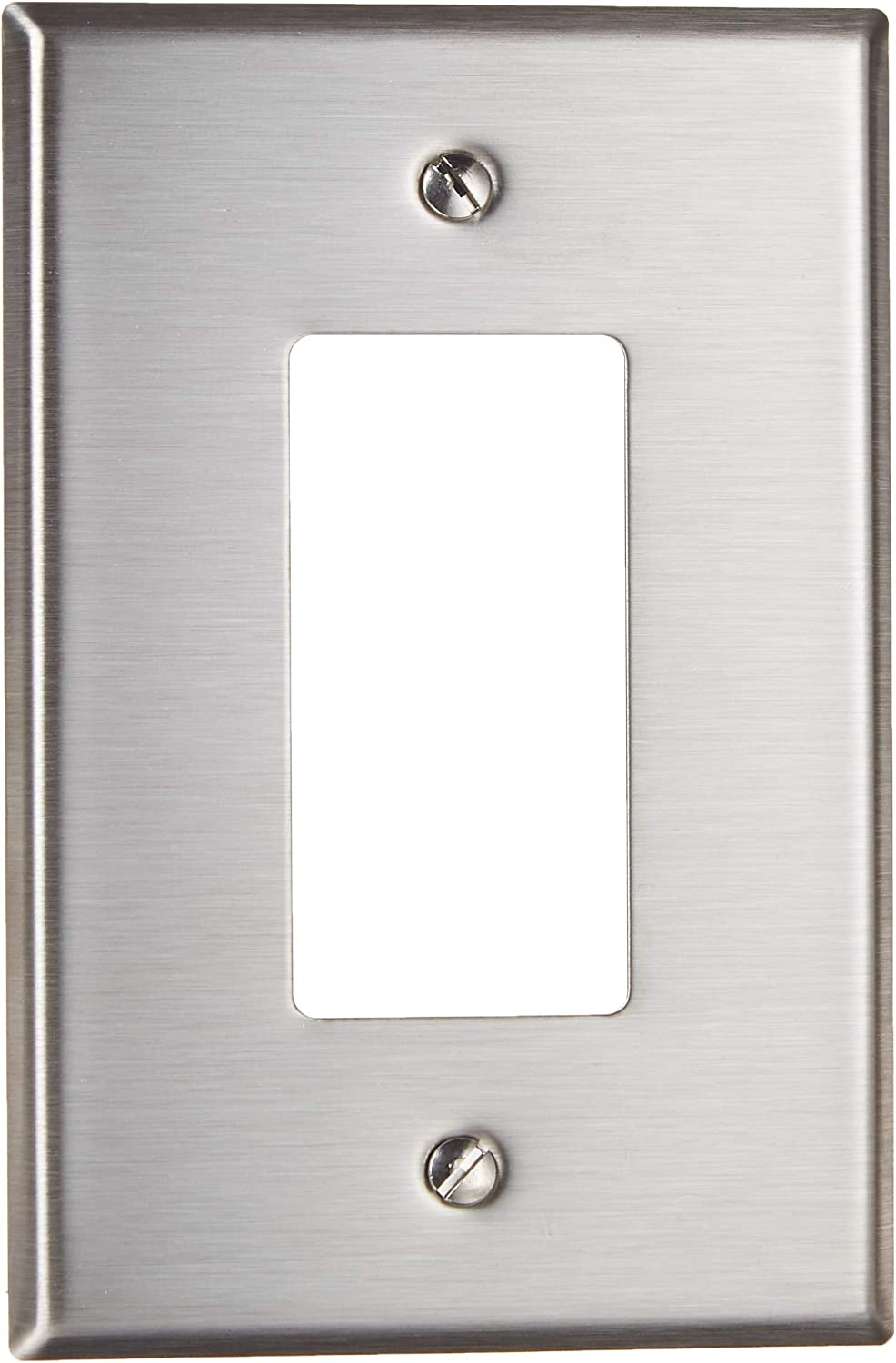 Leviton SO26, 1 pack, Stainless Steel