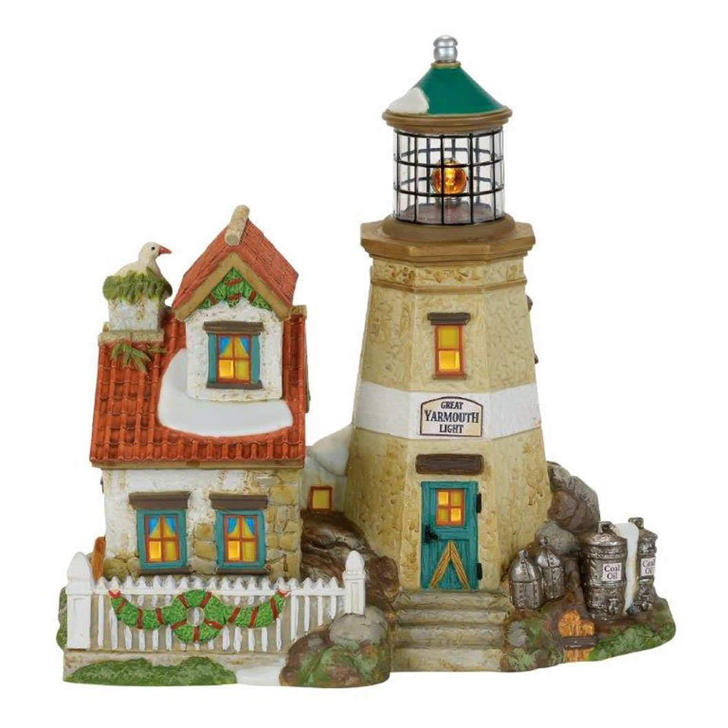 Department 56 Dickens' Village Great Yarmouth Light House 4059380 by Department 56