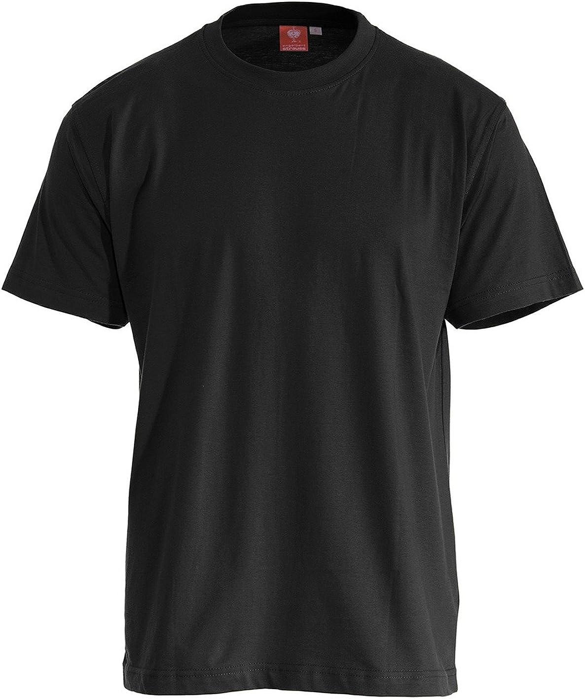 Camiseta Engelbert Strauss, Color: Negro, Talla: L