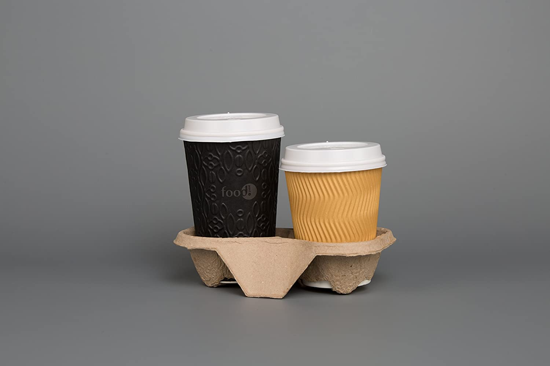 Bandeja 2 Tazas Soporte Papel Bolsa de cartón té café ...