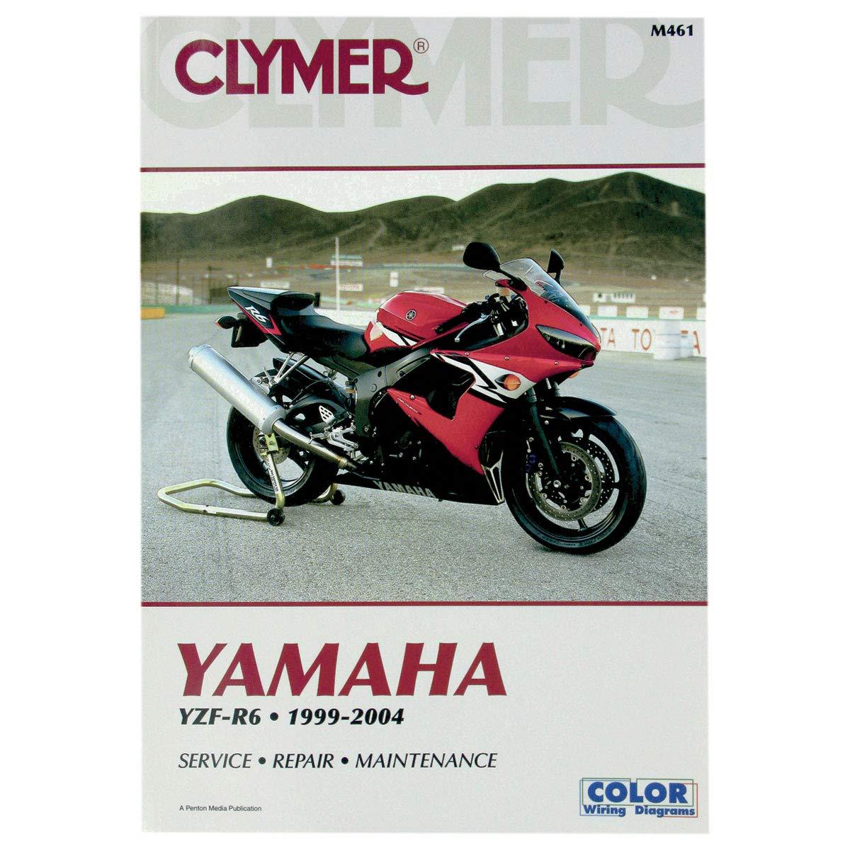 Clymer 99-04 Yamaha YZF-R6 Service Manual on