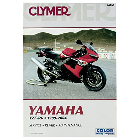 Clymer 99-04 Yamaha YZF-R6 Service Manual