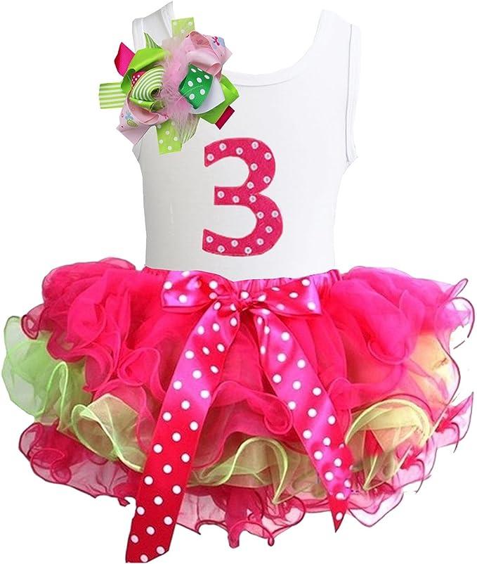 Amazon.com: Kirei Sui - Vestido de tutú para niñas con ...