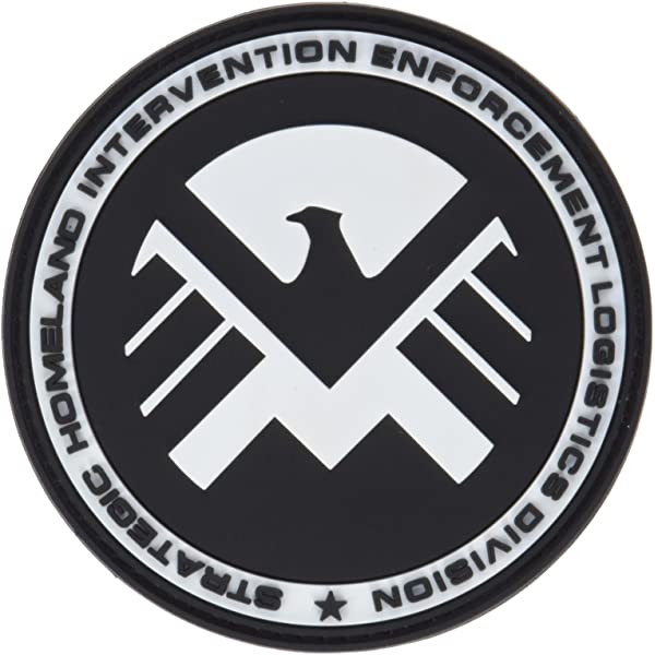 Marvel Team-MAIL Escudo de Eagle Águila Airsoft PVC Parche: Amazon.es: Deportes y aire libre