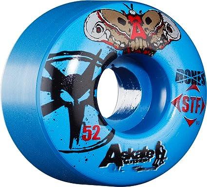 Bones Wheels Huesos Ruedas a-Skate beneficio Ruedas (Pack de 4 Unidades)