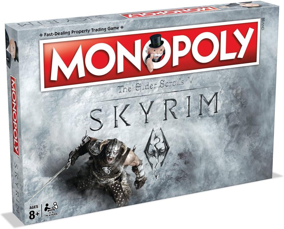 Winning Moves Skyrim Monopolio Juego de Tablero: Amazon.es: Juguetes y juegos