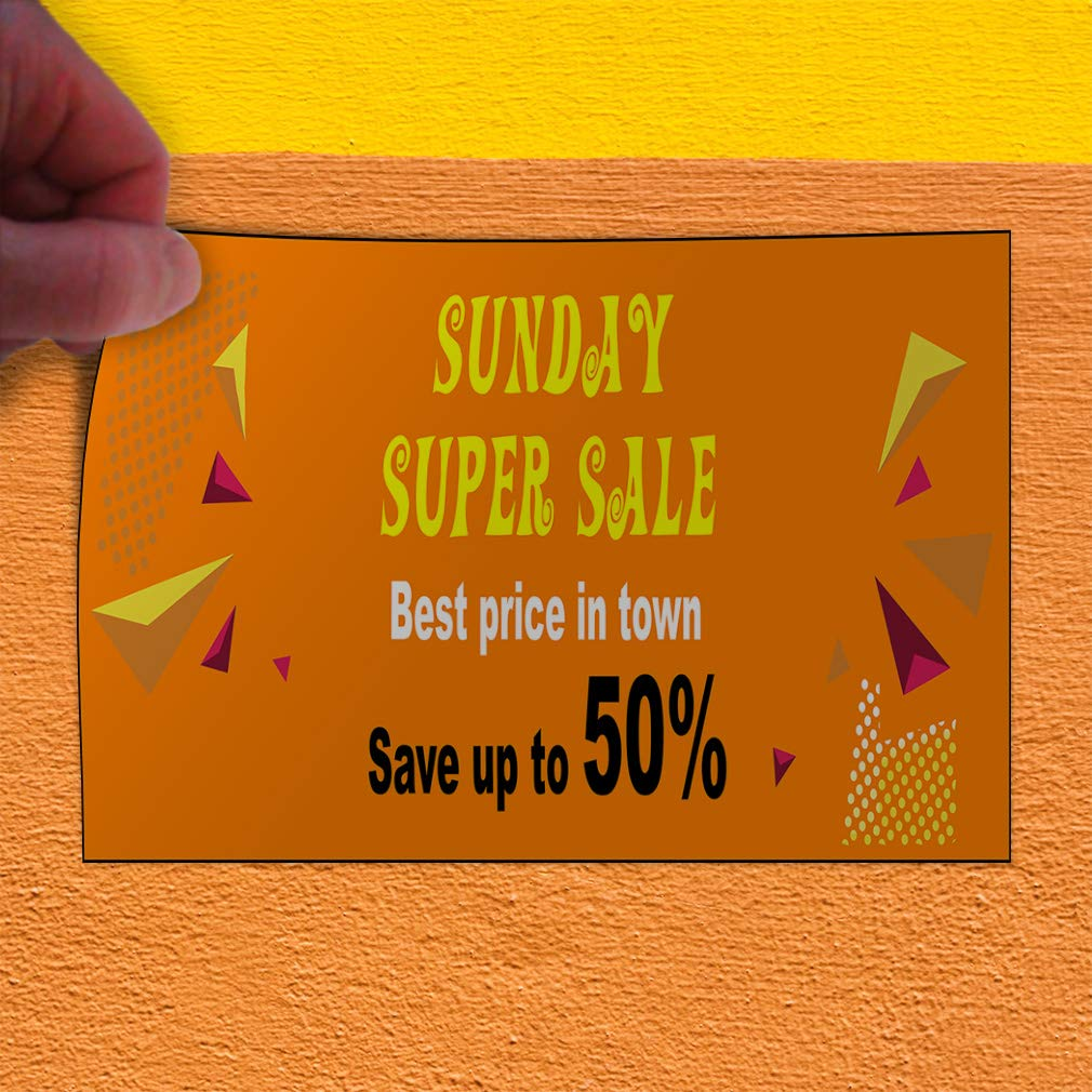 Custom Door Decals Vinyl Stickers Multiple Sizes Sunday Super Sale Orange Business Sale Outdoor Luggage /& Bumper Stickers for Cars Orange 54X36Inches Set of 5