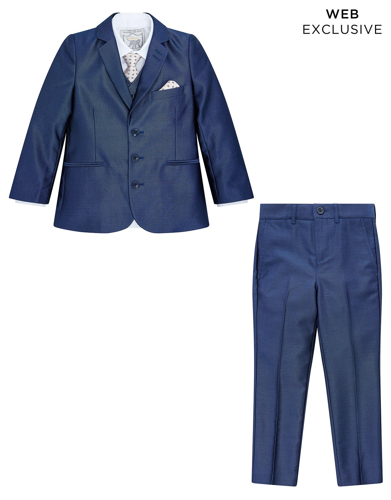 Monsoon Rufus Tonic 5PC Suit Set - boys - 10 Years