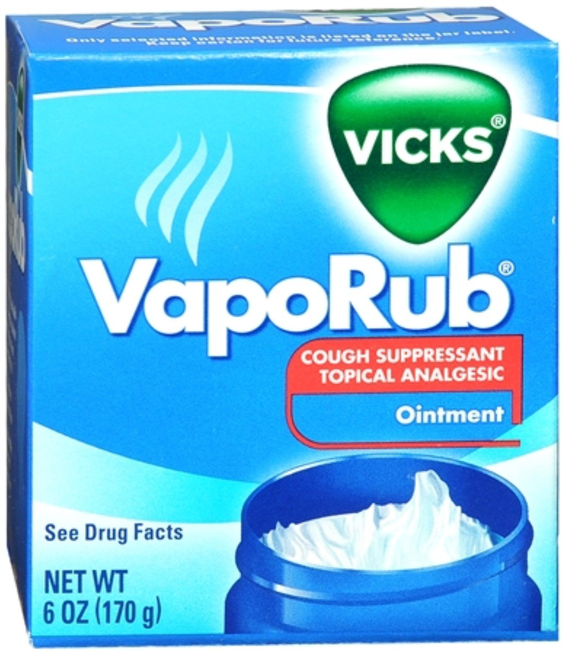 Vicks VapoRub Ointment 6 oz (Pack of 5)
