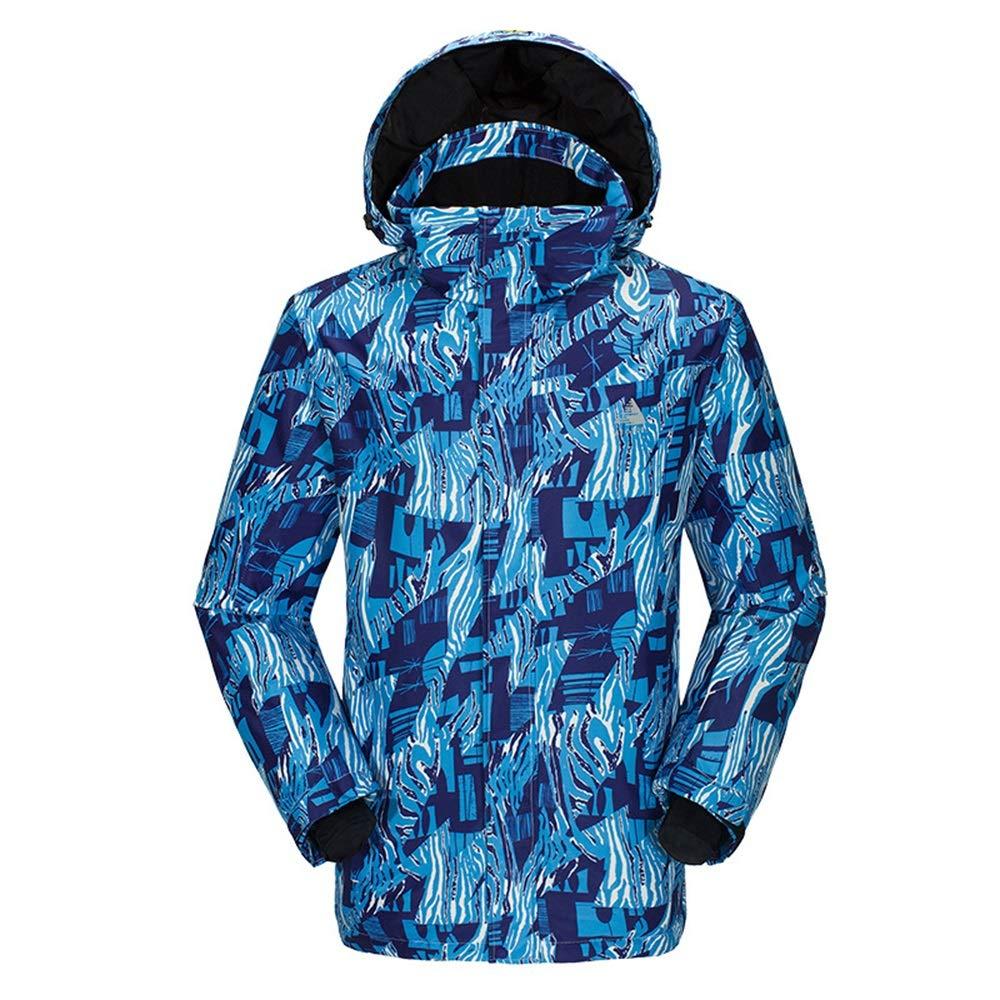 Gimitunus Snowsuit Snowsuit Snowsuit Impermeabile Antivento, Tuta da Sci Traspirante da Sci da Montagna da Uomo, Aderente e da Sci (Coloreee   Square-blu, Dimensione   S)B07L2SWC96S Zebra-blu | Vendita  | Altamente elogiato e apprezzato dal pubblico dei consumatori  | ri 03f191