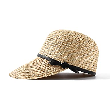 dd4811dd 2019 New Show Natural Straw Baseball Caps for Women Ladies Spring Summer  Visor Sun Hats Wholesale, Beige at Amazon Women's Clothing store: