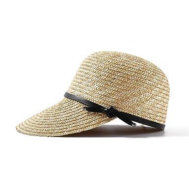 6cc0e4f049e9c 2019 New Show Natural Straw Baseball Caps for Women Ladies Spring Summer  Visor Sun Hats Wholesale