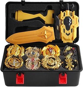 CUTICATE 12pcs / Set Juguete De Lanzador Superior De Spinning ...