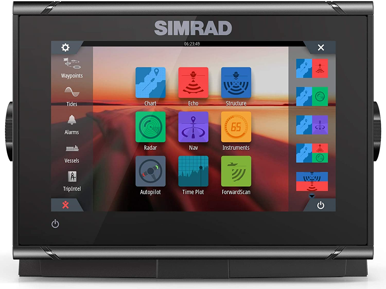Simrad GO7 XSR Combo con mapa base: Amazon.es: Electrónica