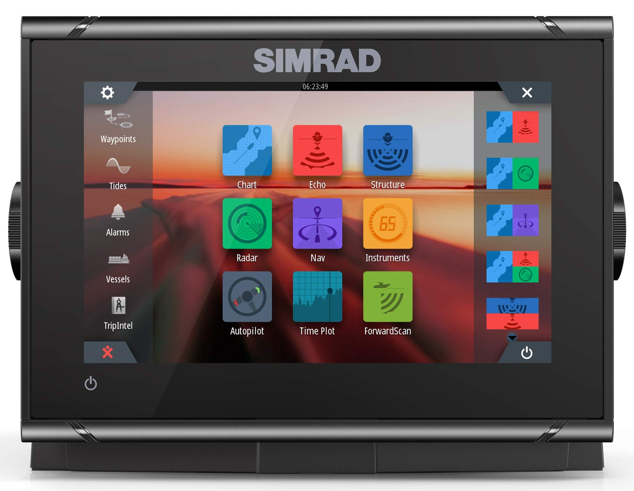 Simrad GO7 XSR Combo w/Basemap by Simrad