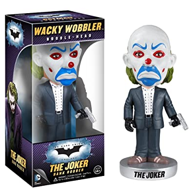 Funko Dark Knight Movie: Bank Robber Wacky Wobbler: Funko Wacky Wobbler: Toys & Games