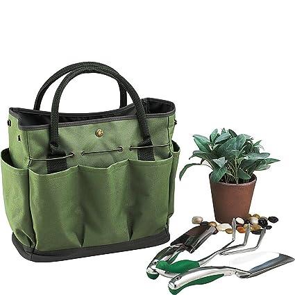 Genial Garden Tote, Gfuny Garden Tote Bag With Pockets (8 Pockets), Garden Tote