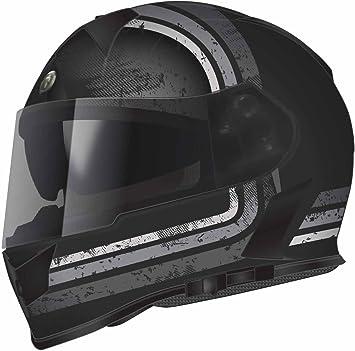Torc T14B Blinc Loaded Streamline Mako Full Face Helmet Flat Black with Graphic, XX-Large T14B15SL226