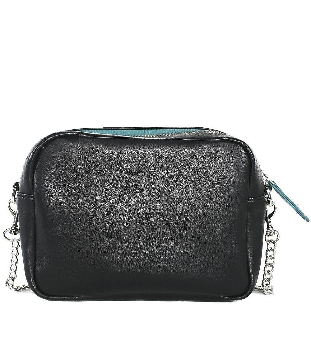 STARLITE Bandolera Valeria Mazza Design, negro, Sacs portés main femme, (Black), 5x14x19 cm (W x H L)