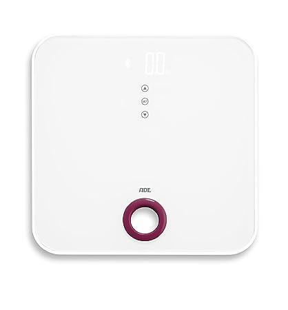 ADE Báscula de baño digital BE1616 FITvigo. Electrónica con excelente App. gratuita. Obtenga