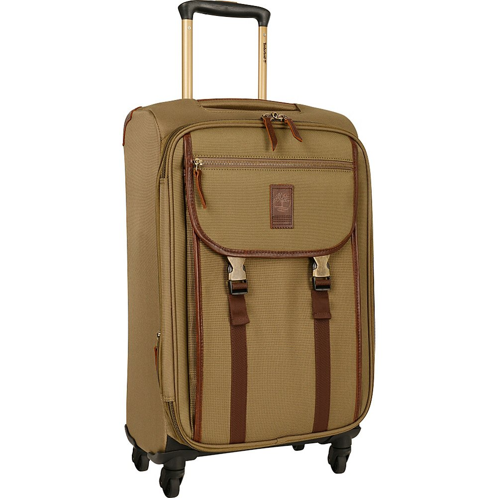 Timberland Reddington 21' Expandable Spinner, Bagage Cabine Mixte Adulte, Militaire (Beige) - 7193C02 Randa luggage