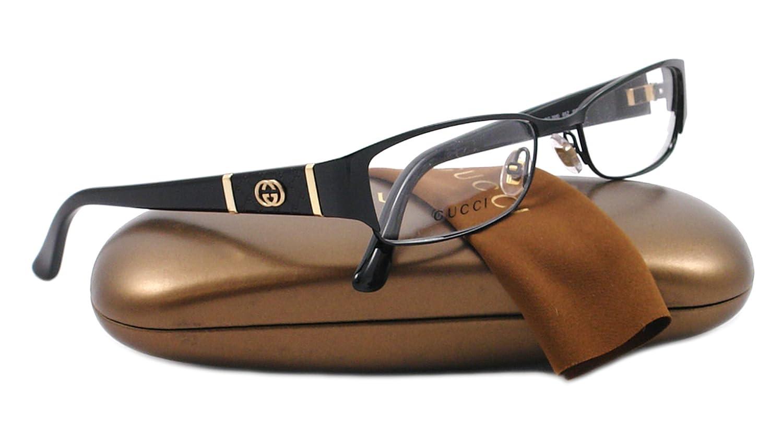 b4716476a918 Gucci GG2910 Eyeglasses, 065Z Black, 52mm: Amazon.ca: Watches