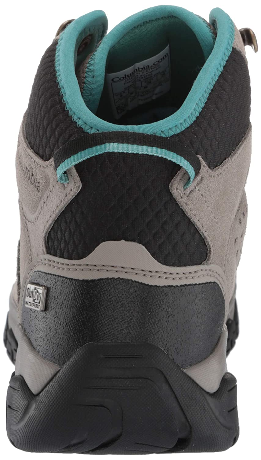 6.5 Regular US ti grey steel Columbia Womens Isoterra Mid Outdry Boot fairytale