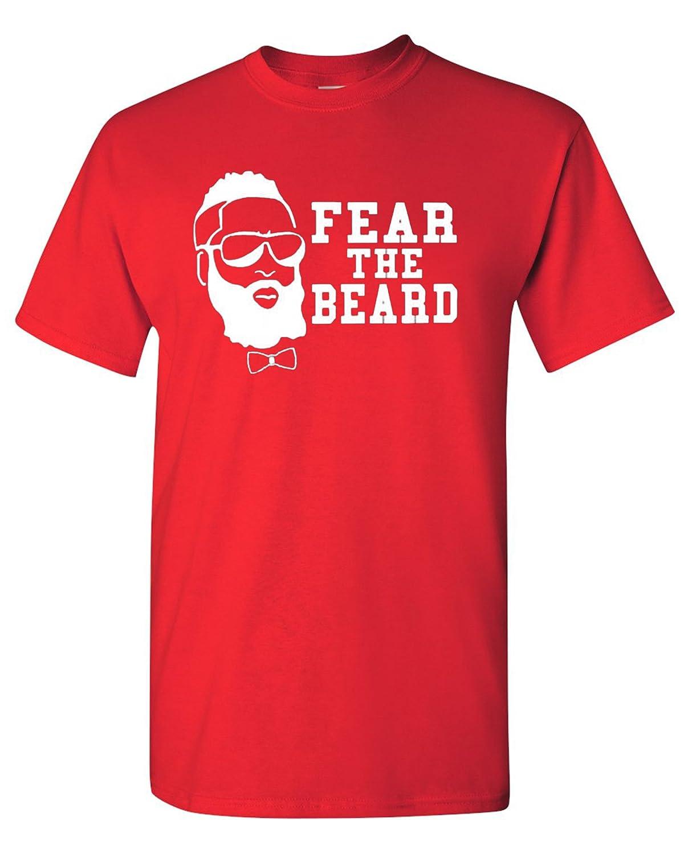 best service 4d959 818ce Fear The Beard Harden Basketball Houston T-Shirt Tee
