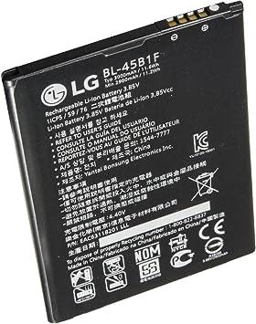Original LG batería de Ion de Litio 45b1 °F 3000 mAh batería para LG V10 H960 (Pack de 2) – eac63158401: Amazon.es: Electrónica