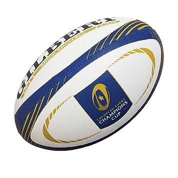 Gilbert European Rugby - Pelota de Rugby, Color Blanco, Talla 5 ...