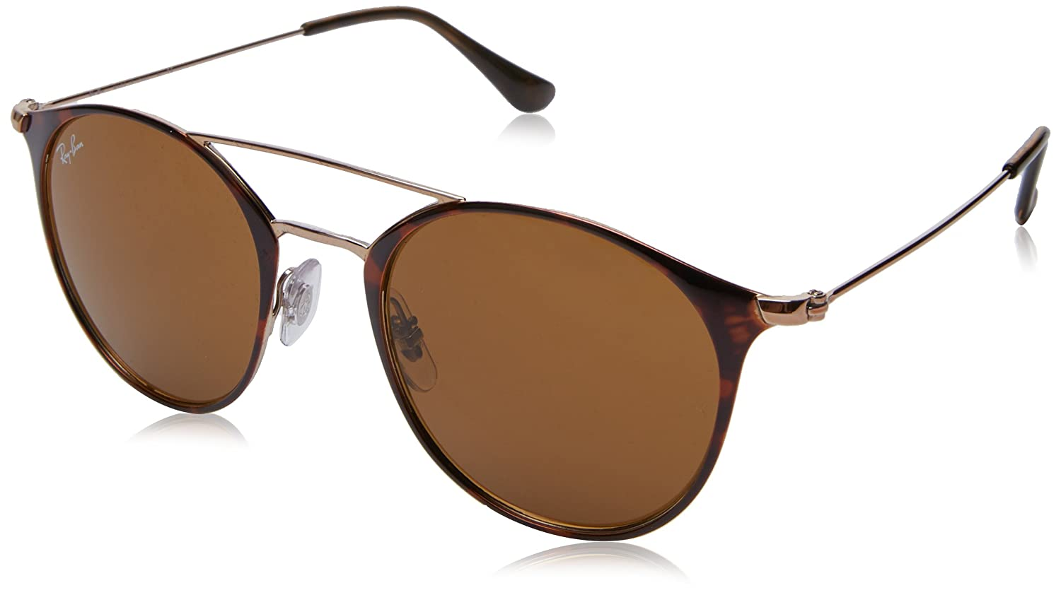 RAYBAN Unisex s 0RB3546 9074 49 Sunglasses, Copper On Top Havana Brown   Amazon.co.uk  Clothing 23f4e0b108
