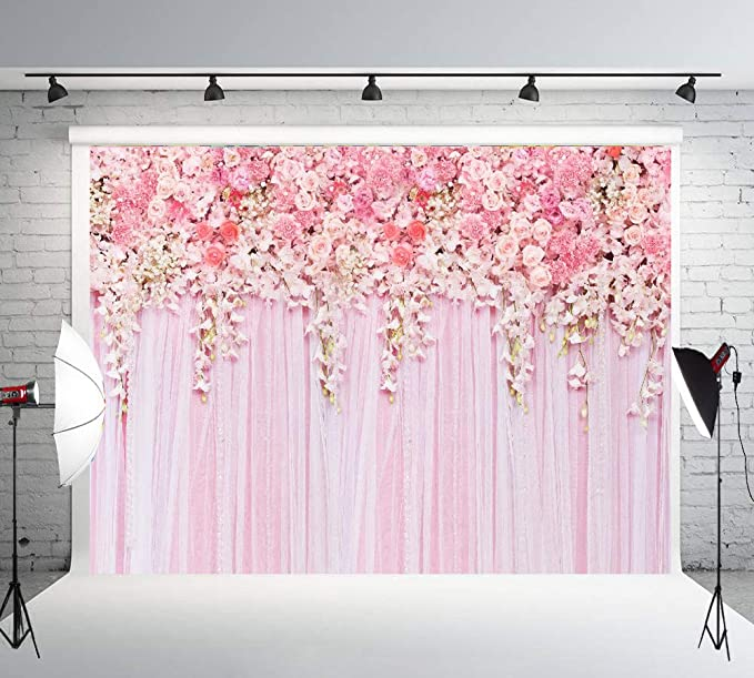8x10 FT Photography Backdrop Abstract Artwork with Hearts Silhouette Sunshines Marriage Passion Valentines Background for Baby Shower Birthday Wedding Bridal Shower Party Decoration Photo Studio