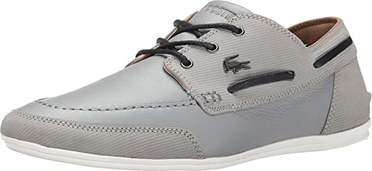 Misano Boat 5 Boat Shoe Grey Size 10.5