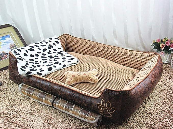 BABYSq Cama Rectangular para Mascotas - Sofá para Perros/Gatos - Four Seasons - Cama para Perro Lavable Extraíble Universal,1,L: Amazon.es: Hogar
