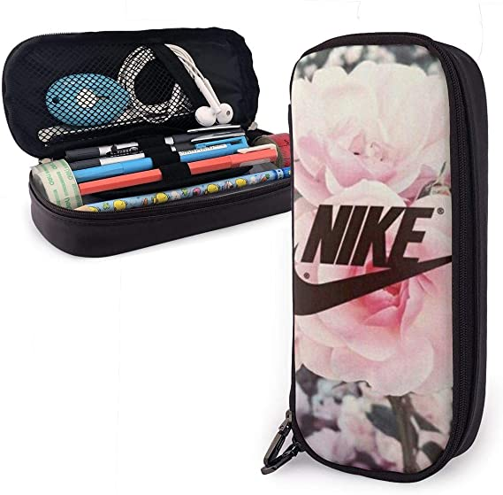 ackj Just Dd ct Ldvd Big Capacity Leather Estuche Case Pencil Pouch Box sjlpr qvhztbv Bolsa práctica Bag Holder With Zipper Size-20cmx9cmx4cm: Amazon.es: Oficina y papelería