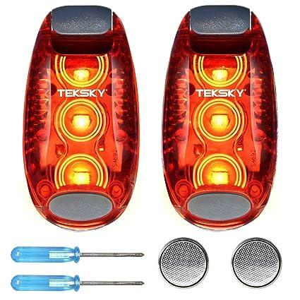 Amazon.com: TekSky - Luz LED de seguridad superbrillante ...