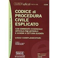 Codice di procedura civile esplicato. Con commento essenziale articolo per articolo e schemi a lettura guidata. Leggi complementari. Ediz. minor