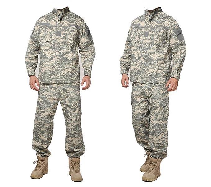 Amazon.com: Conjunto de ropa de camuflaje militar para ...
