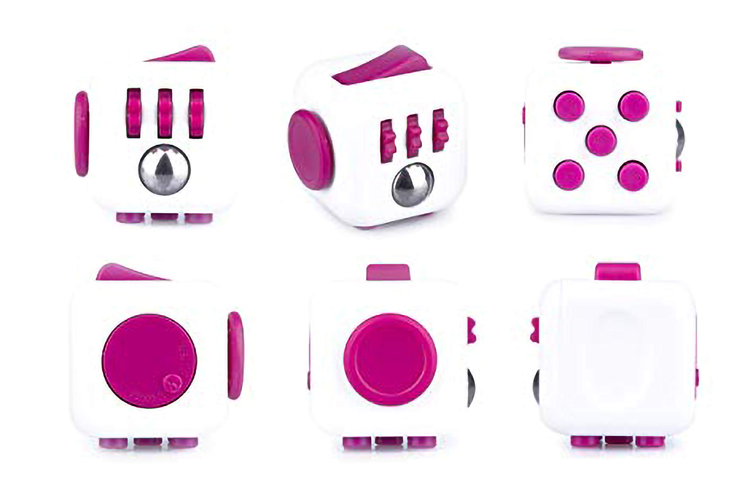 Fidget Cube Authentic Original Series 1 Pink & White by Antsy Labs (Image #2)