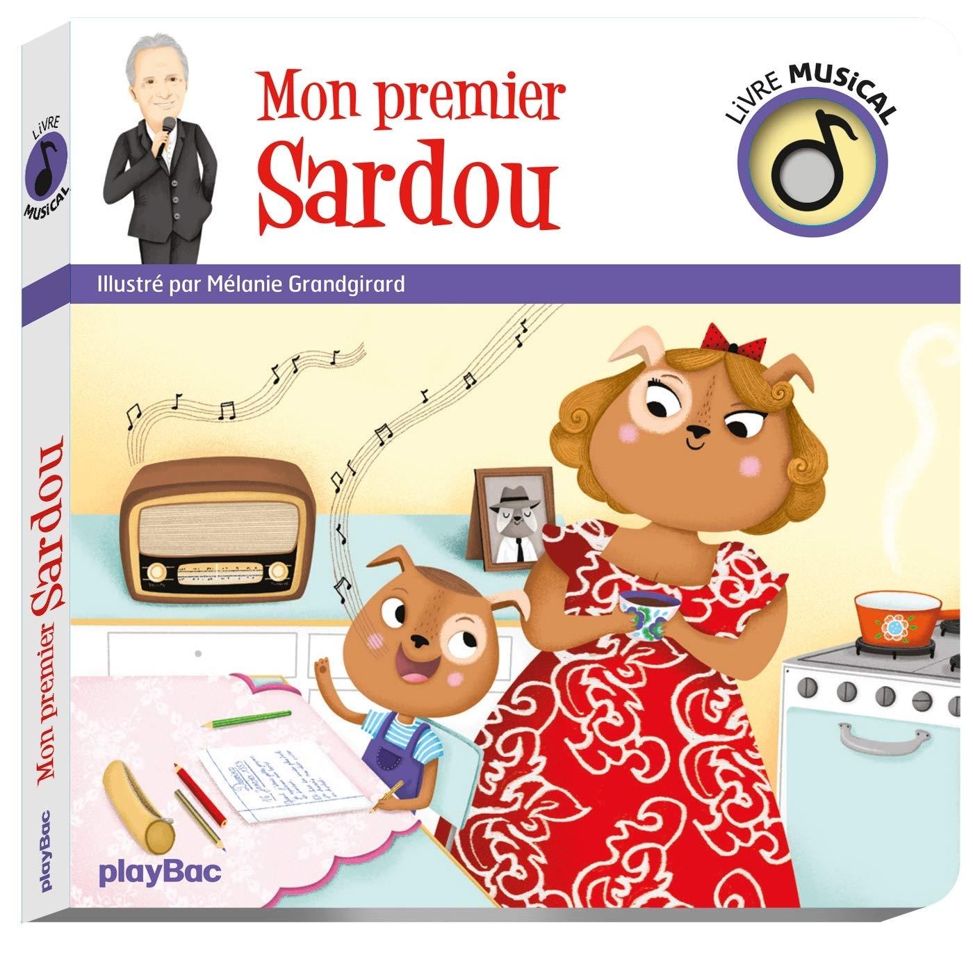 Livre musical - Mon premier Sardou